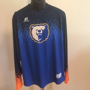 LARGE RUSSELL ATHLETIC SHIRT NWT CHICAGO BEARS !